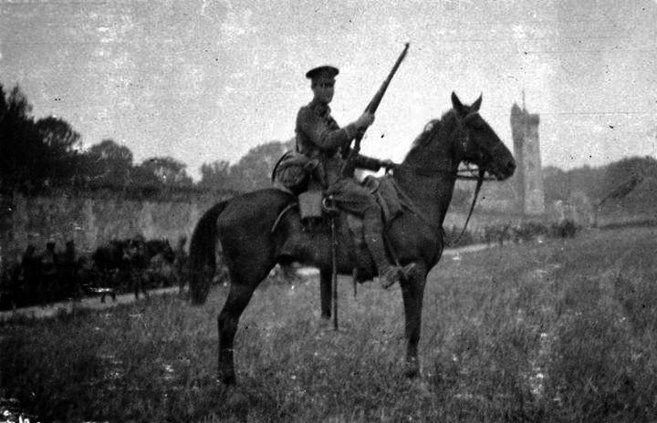 Combined Irish Regiments - Cavalry Regiments, 1914-18
